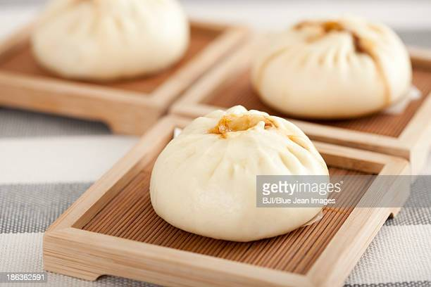 Chinese food steamed buns