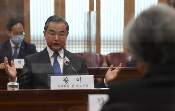 KOR: China's Foreign Minister Wang Yi Visits South Korea