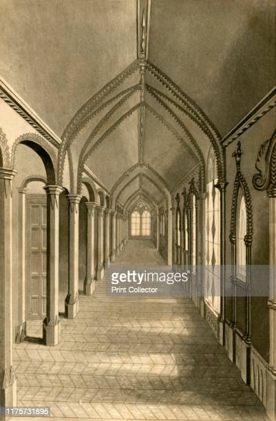 Chinese Gallery' 1835 The Chinese gallery in Highlands private asylum at Ticehurst offered invalids a secure retreat in wet weather Opened by Samuel...