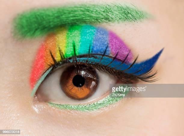 Chinese Girl Beautiful Eye 05 Color