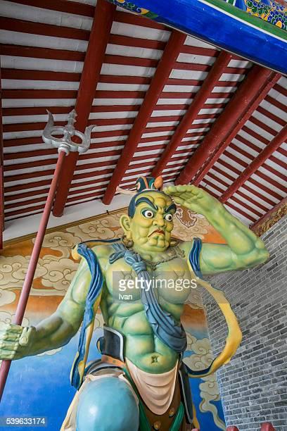 Chinese God, General of  Far Sight  (Clairvoyance or Qian Li Yan)