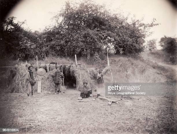 Chinese guard post at Mong Nga Burma Myanmar 1886