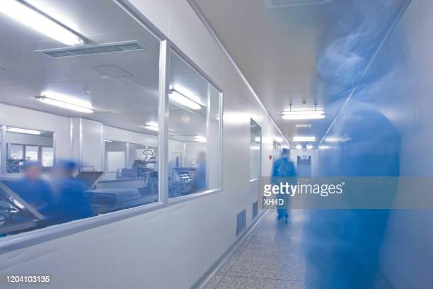 chinese hospital laboratory working - coronavirus stock pictures, royalty-free photos & images