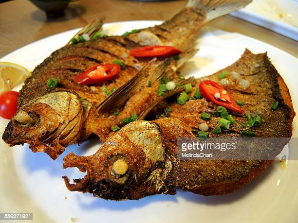 Chinese hot and spicy fried fish
