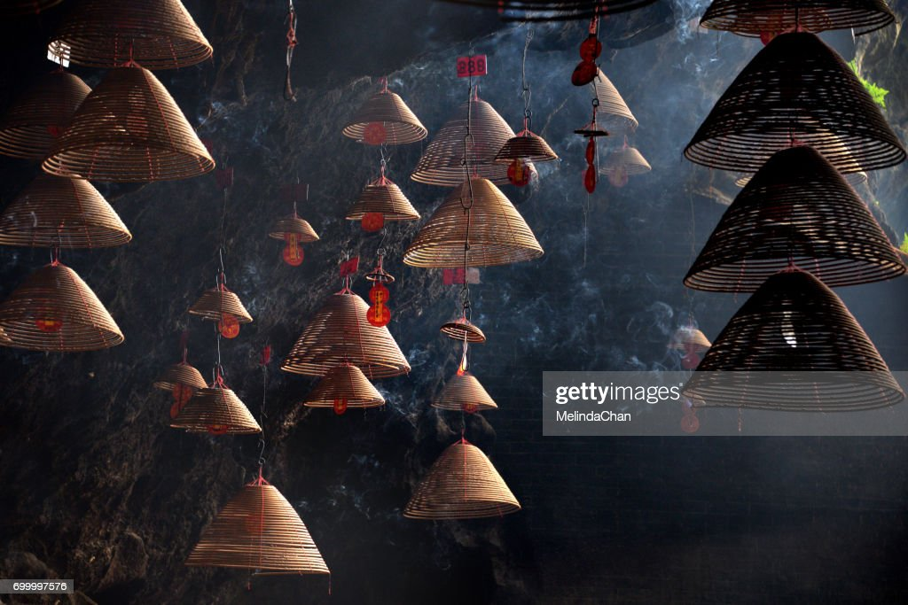 Chinese Incense coils pattern : Stock Photo