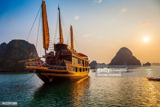 Chinese Junk in Halong Bay
