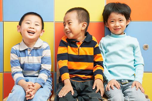 Chinese kindergarten student at school 521602868