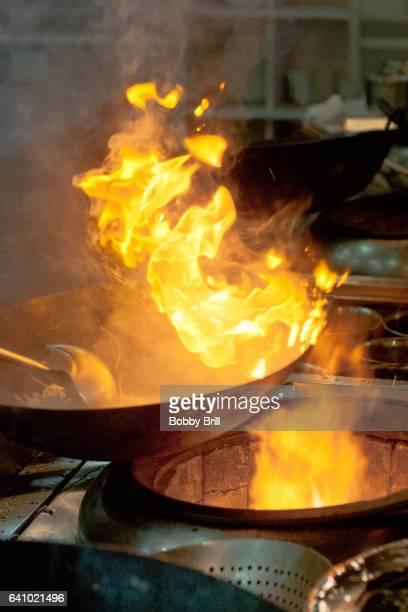 Chinese Kitchen Fire