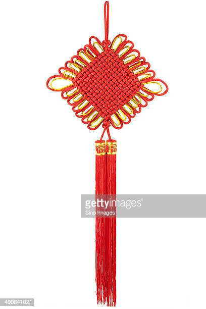 chinese knot - image stock pictures, royalty-free photos & images