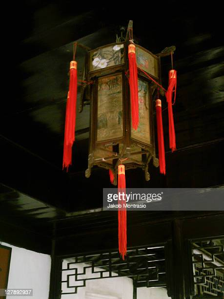 chinese lamp - jakob montrasio stock pictures, royalty-free photos & images