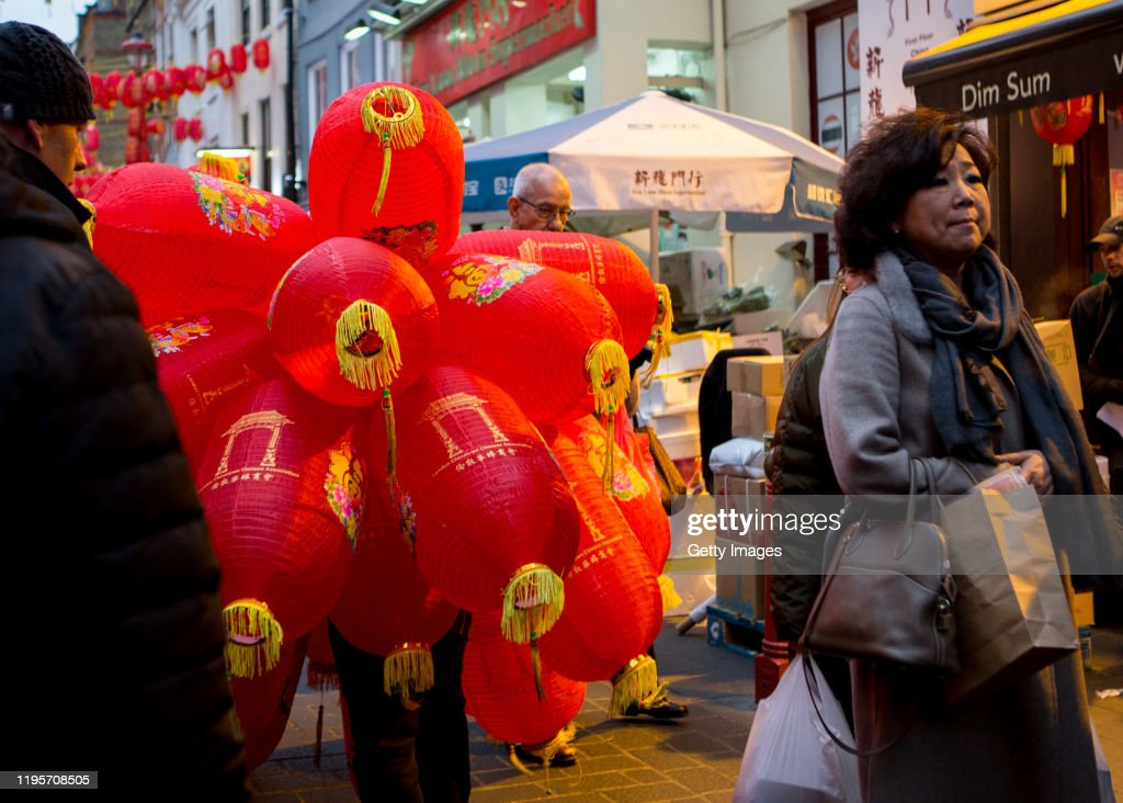 Chinese Lanterns Are Prepared In Chinatown On January 24 2020 In News Photo Getty Images