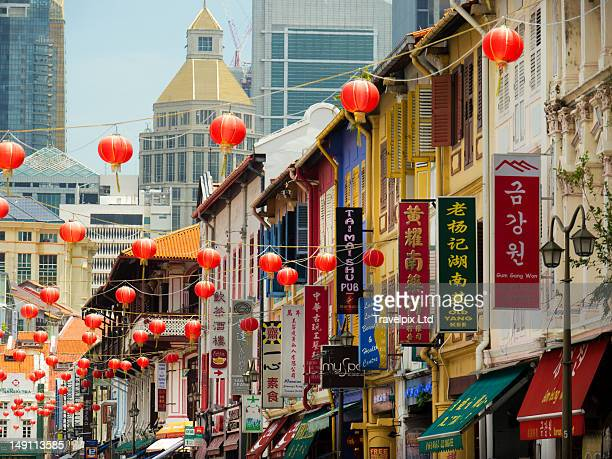 Chinese lanterns, China Town, Singapore