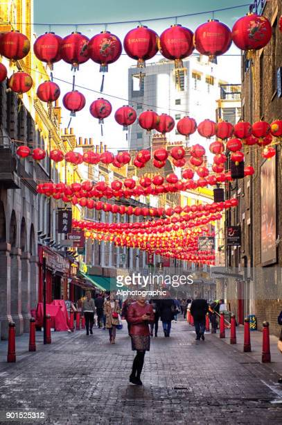 Chinese lanterns in London