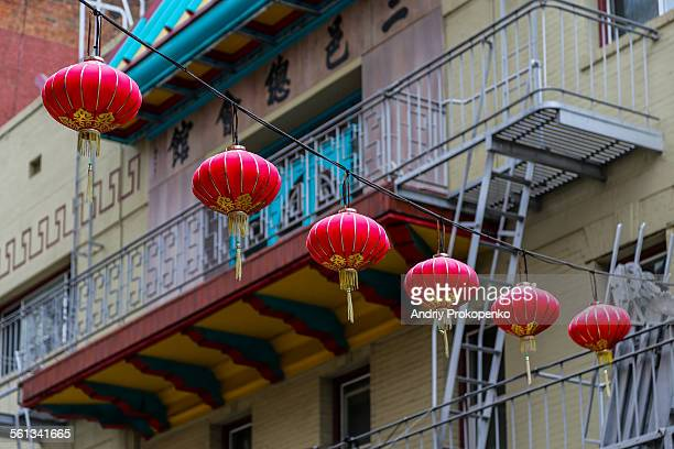 Chinese Lanterns in San Francisco's Chinatown