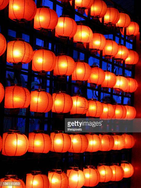 chinese lanterns - lifeispixels stock pictures, royalty-free photos & images