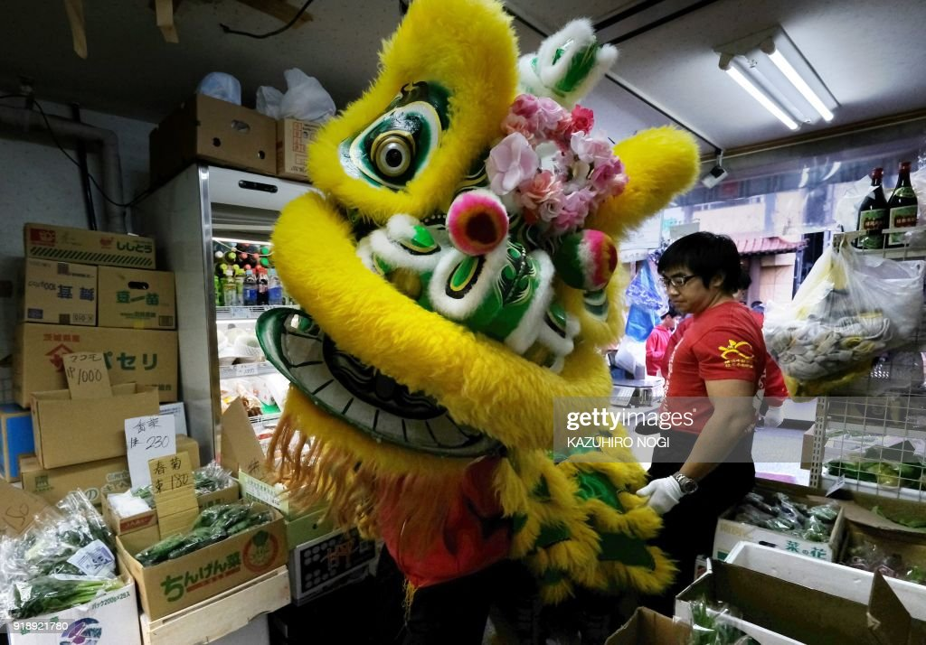 Celebrations For Chinese New Year 2018