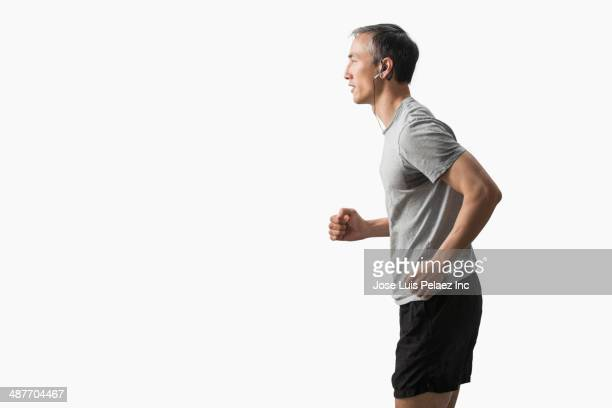 Chinese man running