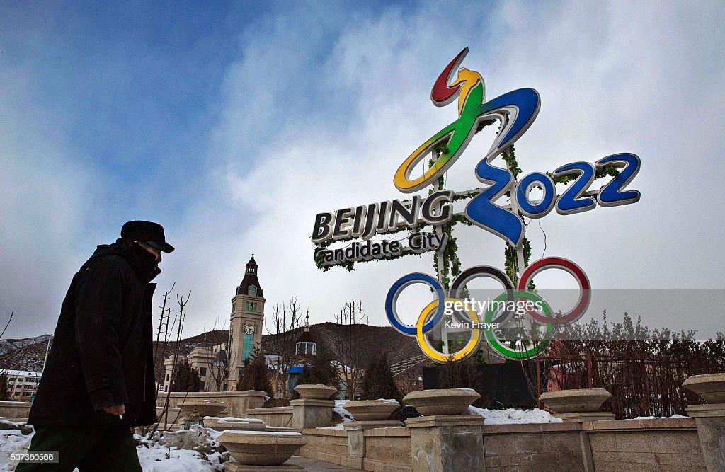 Villagers Hope Olympics Will Bring Development : News Photo