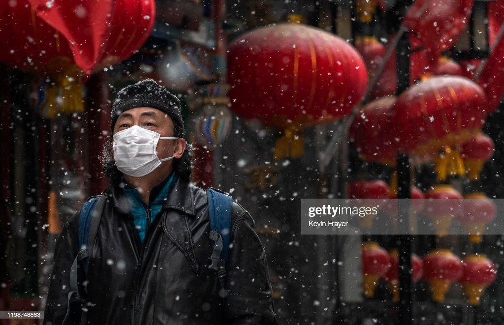Concern In China As Mystery Virus Spreads : News Photo