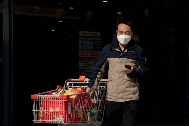 CHN: Daily Life In Beijing Amid Coronavirus Outbreak
