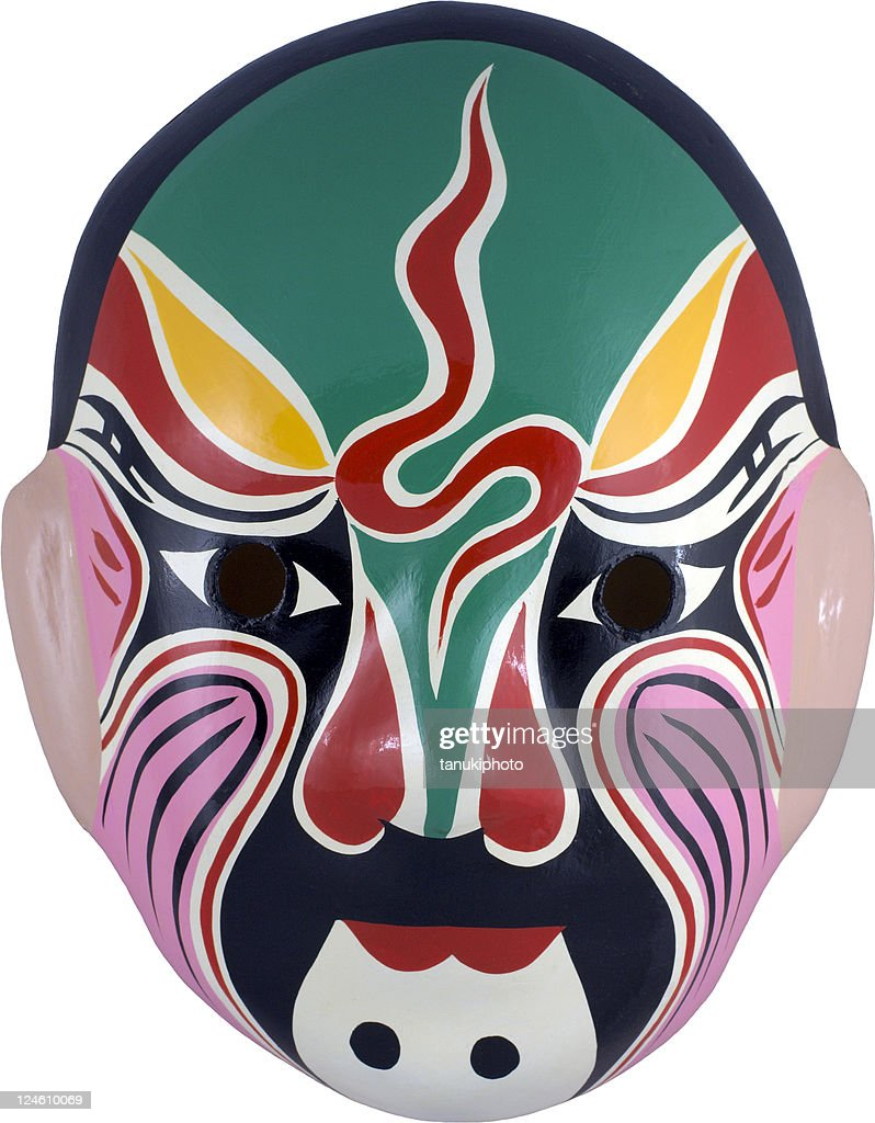 chinese mask series : Stock Photo