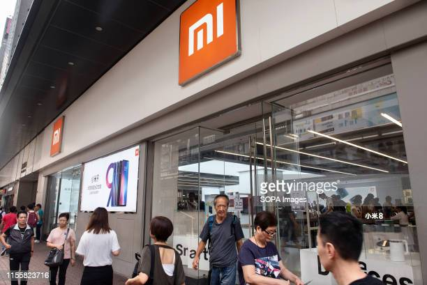 Chinese multinational technology and electronics brand Xiaomi flagship store seen in Mong Kok.