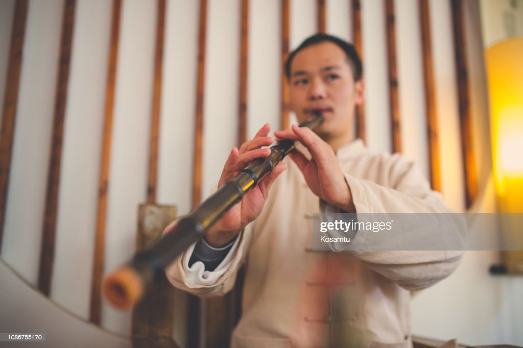 Chinese music : Stock Photo