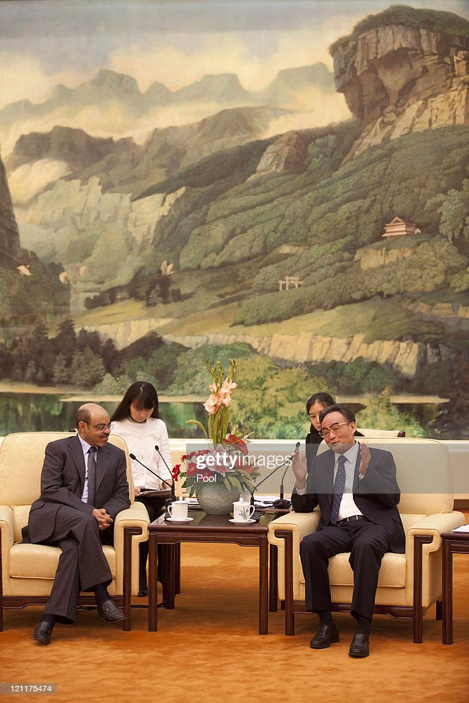 Ethiopian And Chinese Prime Ministers Meet In Beijing