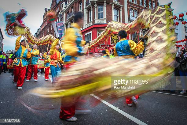 CONTENT] Chinese New Year celebrations taking place in Chinatown in London