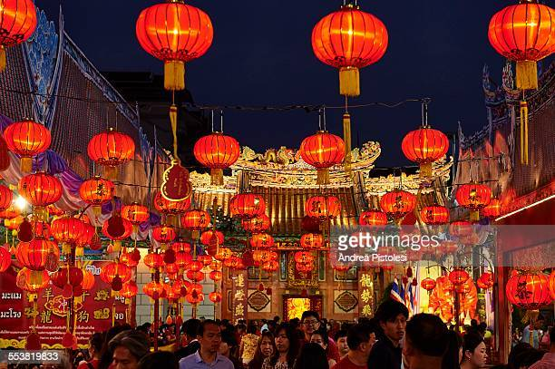 chinese new year festival in bangkok - 7894 stock pictures, royalty-free photos & images