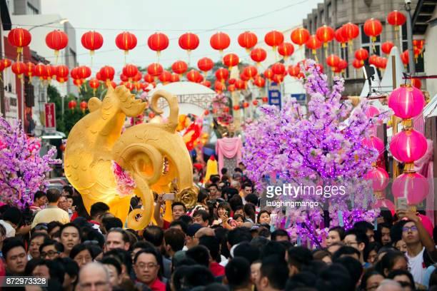 Año nuevo chino Georgetown Penang Malasia