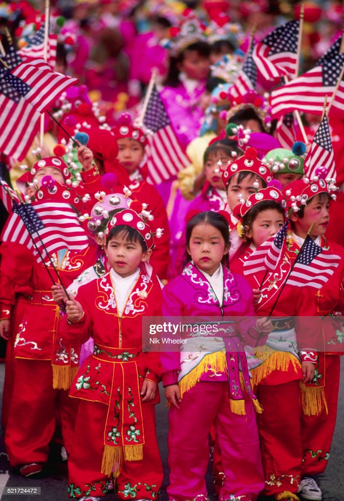 chinese new year in los angeles stock photo - Chinese New Year Los Angeles