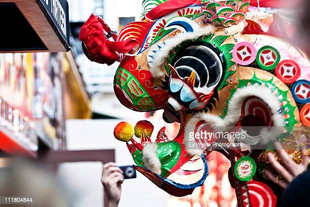 chinese new year, london - chinese new year stock pictures, royalty-free photos & images