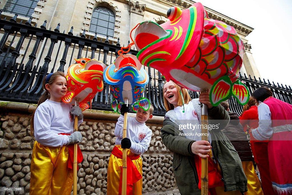 Chinese New Year London Parade : ニュース写真