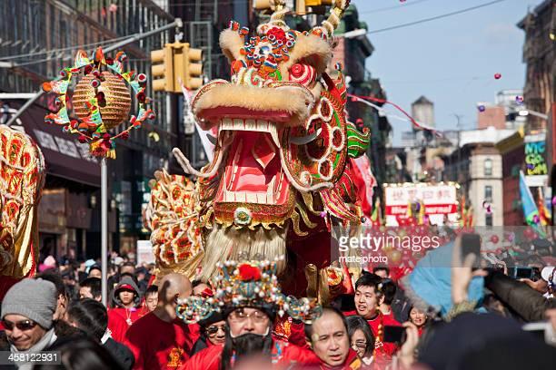 desfile do ano novo chinês - desfiles e procissões - fotografias e filmes do acervo