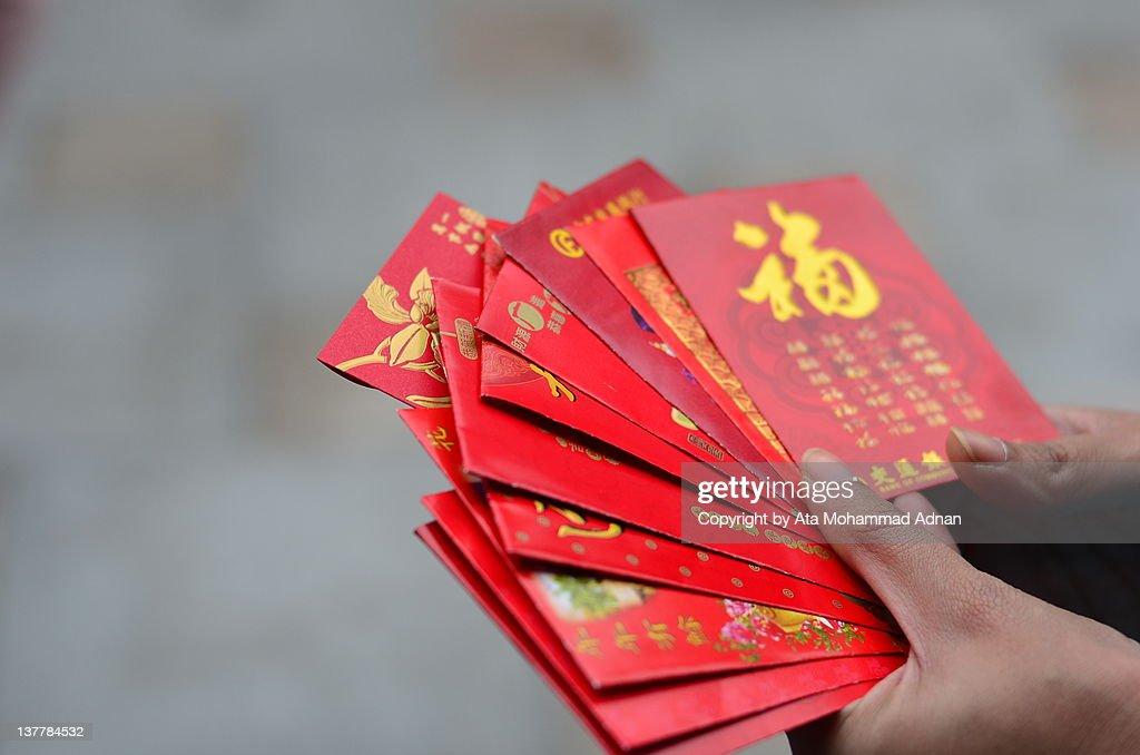Chinese new year ritual : Stock Photo