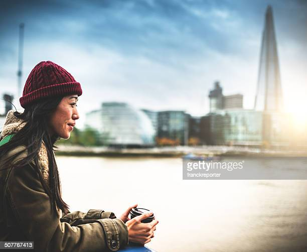 chinese observing the london skyline