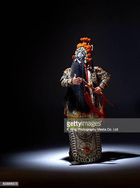 Chinese opera character (Ba Wang)