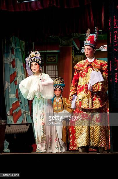 dell'opera cinese durante il mese fantasma affamato - hungry ghost festivals in malaysia foto e immagini stock