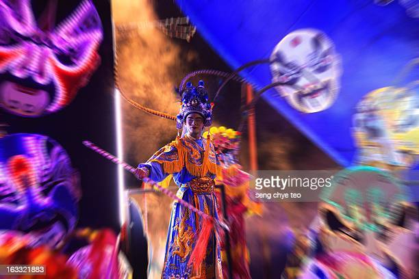 chinese opera in action