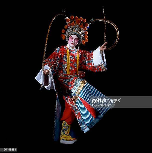 Chinese Opera in China Cantonese opera Zhuhai group The player Yao Zhiqiang in a military role At first Cantonese opera was divided into ten...