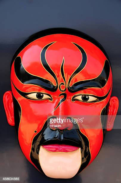 chinese opera mask - chinese opera stock photos and pictures