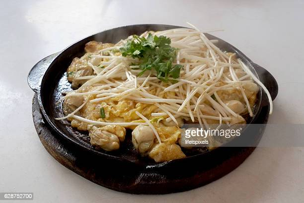 Chinese Oyster Omelet