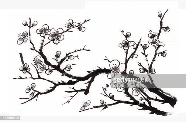 chinese painting plum