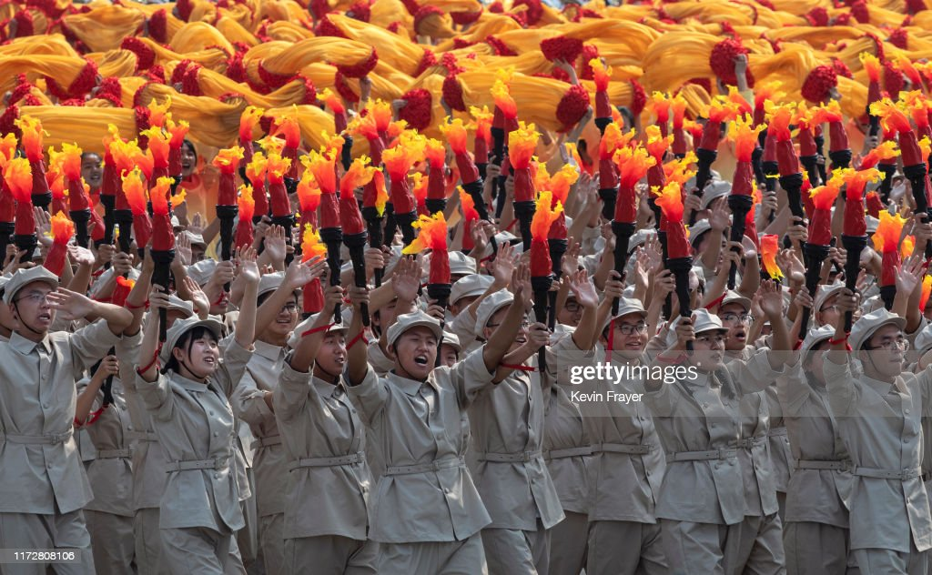 70th Anniversary Of The Founding Of The People's Republic Of China - Military Parade & Mass Pageantry : News Photo