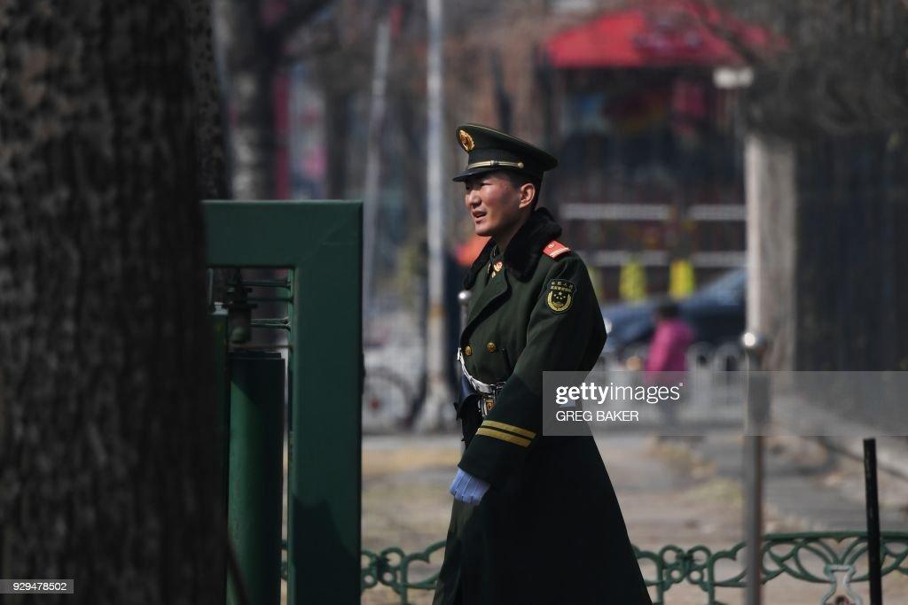 CHINA-NKOREA-US : News Photo