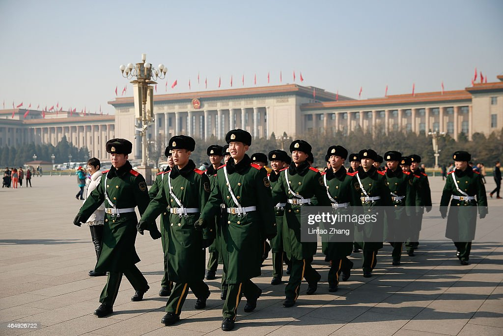 General View Of Beijing's Tiananmen Square : News Photo