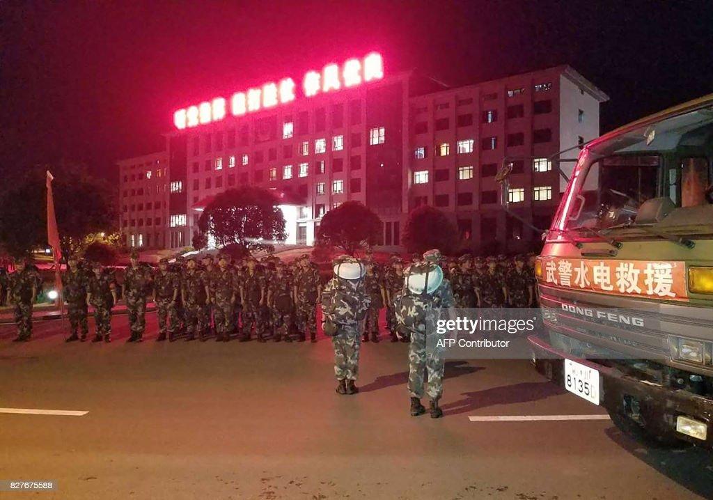 CHINA-QUAKE : News Photo