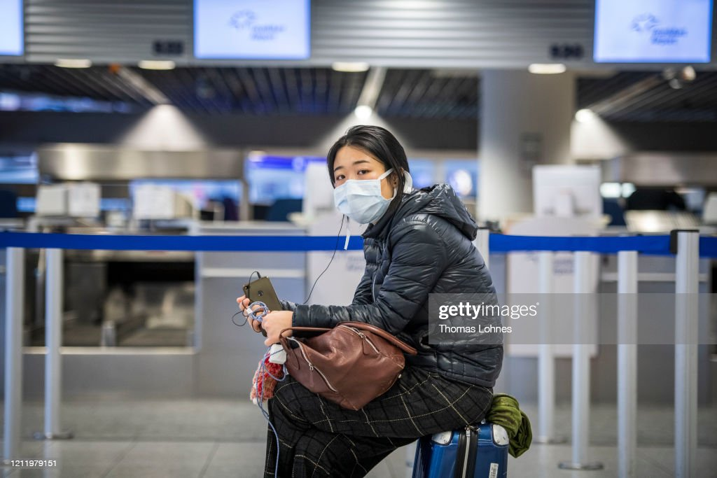 Trump Restricts Travel From Europe Over Coronavirus Fears : News Photo