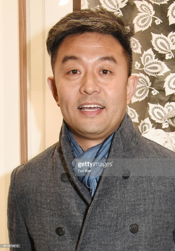 Chinese photographer/artist Liu Bolin attends Paris Photo 2017 Preview at Grand Palais on November 8, 2017 in Paris, France.